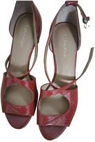 Calvin Klein Red Patent leather Sandals