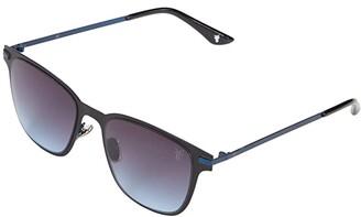 Frye Gianni (Black) Fashion Sunglasses