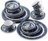 Johnson Bros. Willow Blue 20-Piece Dinnerware Set