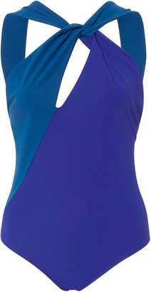 Araks Venetia Single Shoulder Open Back Swimsuit