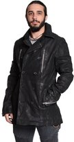 Excelled Men's Excelled Suede Peacoat