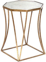 One Kings Lane Bruce Mirrored Side Table - Gold