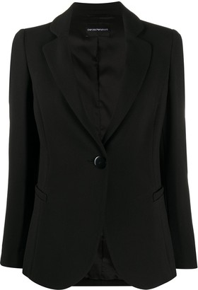 Emporio Armani One-Button Blazer