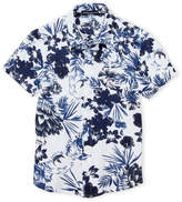 Manuell & Frank Boys 8-20) Floral Knit Shirt