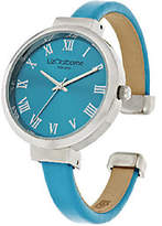 Liz Claiborne New York Colored Bangle Watch with Tonal Dial