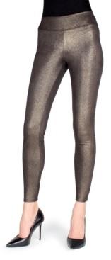 Me Moi Metallic Sheen Shaping Women's Leggings