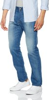 Replay Men's Deep Blue Jeans Regular Fit in Size 38W 34L