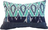 Kim Salmela Tina 14x20 Cotton Pillow, Aqua