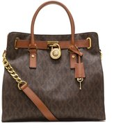 Michael Kors Hamilton Women's Handbag Tote Shoulder Bag Brown