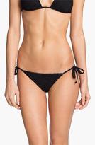 Becca Crochet Side Tie Bikini Bottoms
