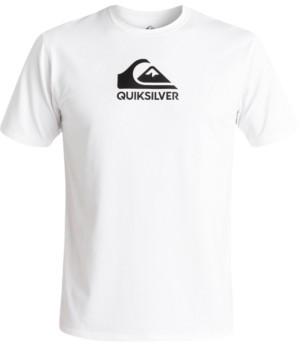 Quiksilver Men's Solid Streak Logo Graphic Swim Shirt