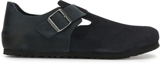 Birkenstock London suede leather shoe