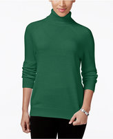 Karen Scott Luxsoft Turtleneck Sweater, Only at Macy's