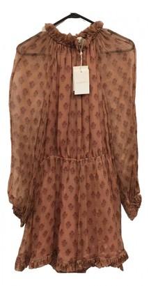 Zimmermann Brown Silk Jumpsuits