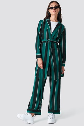 Rut & Circle Striped Dress Jacket