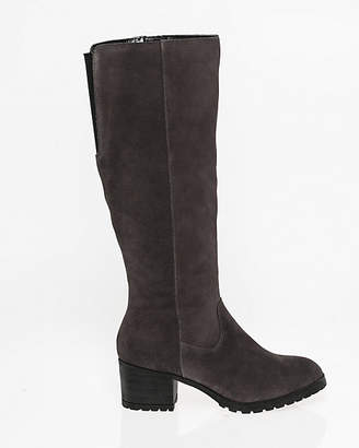 Le Château Suede Knee-High Boot