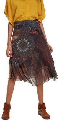 Desigual Luka Mid-Length Skirt