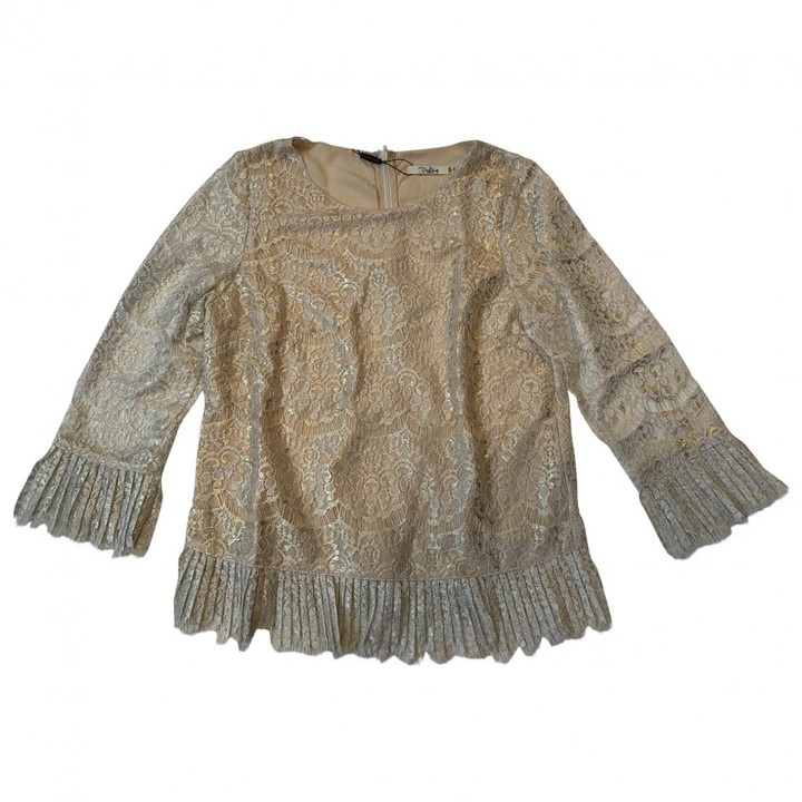 Darling Gold Top for Women