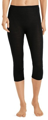 Hanro Wool-Blend Cropped Leggings