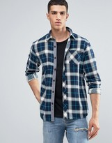 Tokyo Laundry Printed Flannel Check Shirt