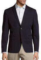 Michael Kors Two-Button Cotton-Blend Sportcoat