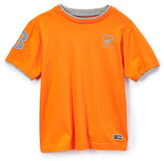 Beverly Hills Polo Club Vibrant Orange Jersey Tee - Toddler & Boys