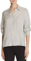 Vince Menswear Stripe Silk Shirt