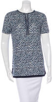 Tory Burch Linen Printed Top w/ Tags