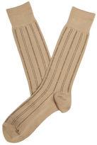 Perry Ellis Microfiber Luxury Stripe Sock