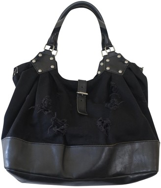 Junya Watanabe Black Leather Handbags