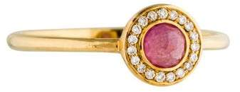 Ippolita 18K Diamond & Composite Ruby Mini Lollipop Cocktail Ring