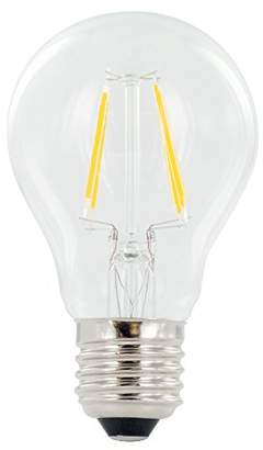 Sure LED Classic Globe Filament Technology Non-Dimmable Warm Light Bulb (Wide 300 Degrees Beam Angle, Glass, E27, 4 W, 2700 k, 470 lm) - Pack of 2