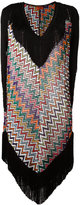 Missoni zig zag beach dress - women - Polyester/Cupro/Viscose - 42