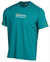 Under Armour Men's Miami Dolphins Combine Authentic Raid Novelty T-Shirt