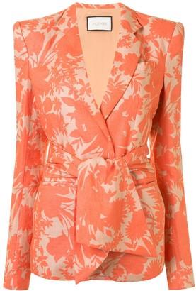 Alexis Kopar floral print blazer