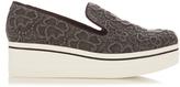Stella McCartney Binx embroidered flatform loafers