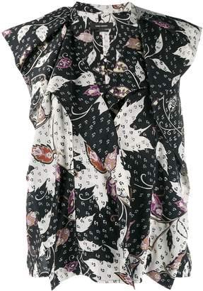 Isabel Marant ruffled tank-style blouse