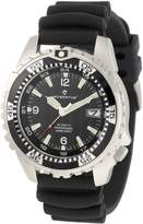 Momentum Men's 1M-DV06B1B M1 Deep 6 Stainless Steel Dive Watch With PU Band
