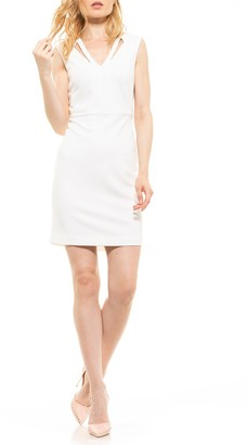 Alexia Admor Jayleen Cutout V-Neck Sheath Dress