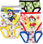 JCPenney LICENSED PROPERTIES Paw Patrol 5-pk. Brief - Preschool Boys 4-8