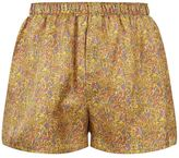Sunspel Silk Marble Boxer Shorts