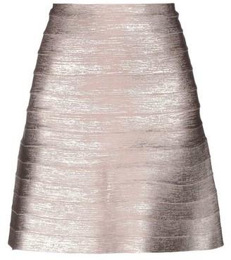 Herve Leger Knee length skirt