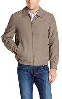 Perry Ellis Men's Microfiber Shirt Collar Jacket