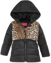 London Fog Animal Printed Jacket, Little Girls (2-6X)