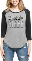 '47 Women's New Orleans Saints Club Block Raglan T-Shirt