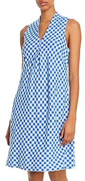 Tommy Bahama Sleeveless Gingham Shift Dress