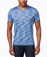 Alfani Space-Dyed V-Neck T-Shirt, Only at Macy's