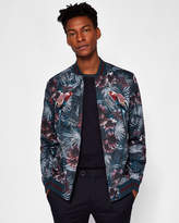PARMA Embroidered printed bomber jacket