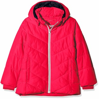 Name It Girl's Nmfmil Puffer Jacket Camp