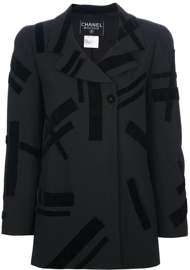 Chanel pattern suit